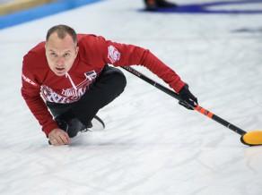 Līdzīgā spēlē Latvija piekāpjas Ķīnai PČ jauktajām kērlinga komandām