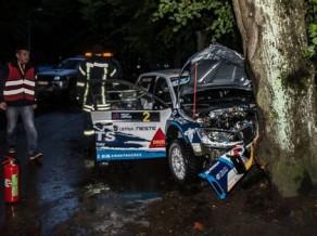 """Magalešs pēc ''Rally Liepāja'' avārijas: """"Nezinu, kas tur notika, taču es pilnībā atveseļošos"""""""