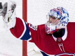 """Arī """"Canadiens"""" piemeklē problēmas ar vārtsargu savainojumiem"""