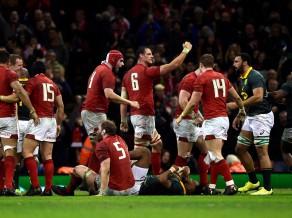 Starptautiskā regbija sezona noslēdzas ar Velsas uzvaru