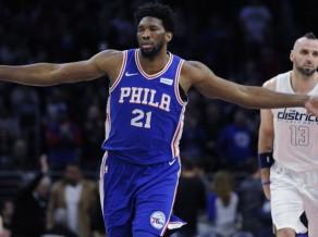 """Pirms spēles pret """"Knicks"""" Embīds kopā ar Hārdenu atzīts par NBA nedēļas MVP"""