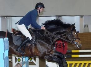 Ziemas čempionāta otrajā posmā uzvar Bricis ar zirgu Berlini
