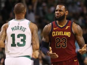 """""""Celtics"""" ar teicamu aizsardzību dominē pirmajā spēlē pret Klīvlendu"""