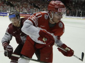 """Dānijas aizsargs: """"Šī mums bija ideāla iespēja, bet Latvija nospēlēja nevainojami"""""""