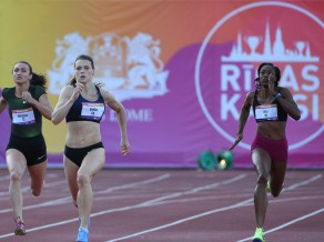 """Bukša: """"Latvijas rekords 100 metros likās kaut kas tāls"""""""