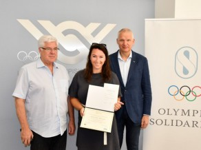 Volejbola trenere Tihovska no Lozannas atgriežas ar diviem starptautiskā līmeņa sertifikātiem