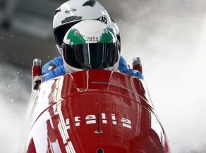 Itāliešu bobslejists Bertaco liek punktu savai karjerai
