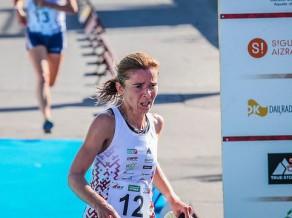 Orientieriste Dambe Siguldā gūst augsto 12. vietu pasaules čempionāta vidējā distancē