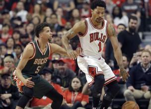 """""""Bulls"""" un """"Rockets"""" ar uzvarām sāk NBA izslēgšanas spēles"""