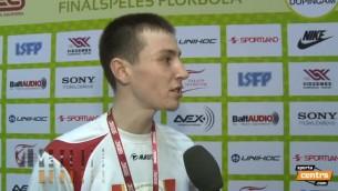 """Video: Višņakovs: """"Spēlēsim nākamgad 1. līgā, cerēsim uz medaļām arī tur"""""""