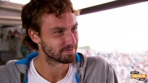 Video: Gulbis par Federera uzvarēšanu, Franciju un savu īpašo diētu