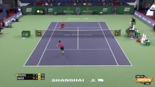 Video: Uzvarai pār Federeru pietrūkst dažu milimetru