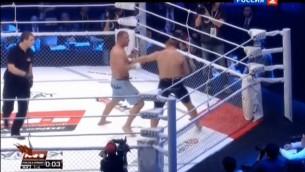 Video: Grabovskis trešajā raundā sakauj Gluhovu