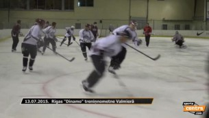 """Rīgas """"Dinamo"""" uzsāk treniņnometni Valmierā"""