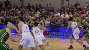 Video: Labākajā sastāvā Lietuva uzvarēta