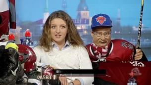 """Video: Overtime TV. Florbola izlases uzbrucēja Bērziņa: """"5.vieta PČ ir ļoti liels sasniegums"""""""