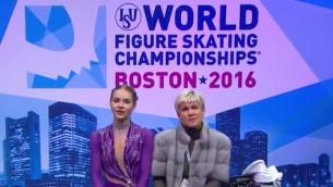 Video: Kučvaļska kvalificējas pasaules čempionāta garajai programmai