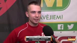 """Video: Vitkovskis:""""Lai būtu atkal čempioni, ir jācīnās"""""""