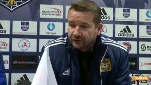 """Video: Ašvorts: """"Negribēju, lai Postņikovs iesit - tagad nāksies 10 reizes atspiesties"""""""