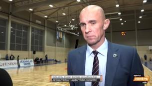 """Video: Galvanovskis: """"Gan Latvijas čempionātā, gan BBL mērķis ir play off """""""