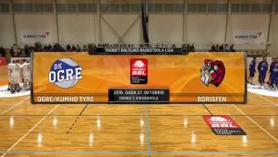 """Video: """"Ogrei/Kumho Tyre"""" panākums Baltijas basketbola līgā"""