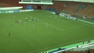 Video: Latvijas U18 izlases futbolists Čudars gūst skaistus vārtus uzvarā pār Indiju
