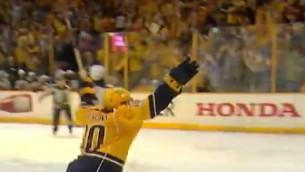 """Video: NHL pusfinālu momentos triumfē """"Predators"""""""