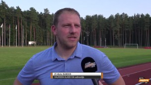 """Video: Dubovs: """"Komandā jābūt konkurencei, citādi zūd motivācija"""""""