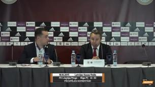 """Video: Stojanovičs: """"Nekad nebiju saskāries ar tik vāju futbola infrastruktūru kā Latvijā"""""""