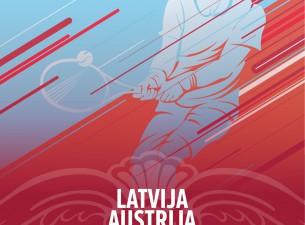 Valmierā notiks Deivisa kausa izcīņas spēles starp Latviju un Austriju