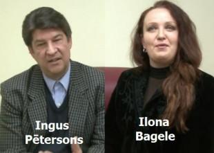 """Video: Ingus Pētersons un Ilona Bagele intervijā par dziedāšanu, saldējumu, šoviem un  koncertu """"La Dolce Vita"""""""
