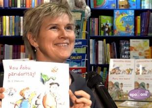 """Video: Izdotas jaunas grāmatas bērniem un vecākiem """"Elfu labo darbu"""" sērijā"""