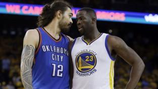 """""""Warriors"""" samazina deficītu sērijā pret """"Thunder"""""""
