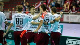 Latvija iemet 11 vārtus un cīnīsies par devīto vietu pasaulē