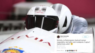"Olimpiskās čalas: vai bobslejisti Latvijai ""izglābs"" olimpiādi?"