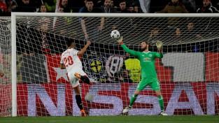 """""""Sevilla"""" 25 sitieni nedod rezultātu - """"United"""" ar de Heju varoņa lomā aizved neizšķirtu"""
