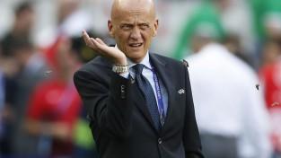 """""""Juventus"""" prezidents aicina atkāpties UEFA tiesnešu komitejas vadītāju Kolinu"""