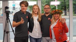 Dziesmu un deju svētku dalībniece Latiševa-Čudare patlaban dzīvo skolā