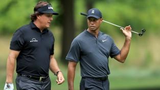 Golfa lielā divkauja: Vudss un Mikelsons cīnīsies par deviņiem miljoniem dolāru