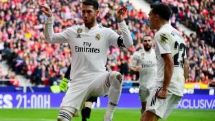 """Kazemiru, Ramoss un Beils gūst vārtus, """"Real"""" gavilē Madrides derbijā"""