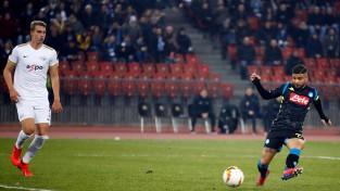 """Vaņins nespēlē zaudējumā pret """"Napoli"""", """"Arsenal"""" paklūp Baltkrievijā"""