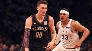 """""""76ers"""" bez Embīda uzvar Bruklinā un izvirzās vadībā sērijā"""