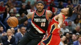 """Entonijs Portlendā debitē ar zaudējumu, Džeimsam rekords """"Lakers"""" 12. uzvarā"""