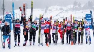 Pasaules kausā distanču slēpošanā pa divām uzvarām Norvēģijai un Krievijai