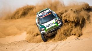 Dakaras ralliju ar pārsteidzošu uzvaru sāk Lietuvas pilots Žala