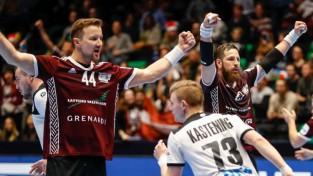 Latvijas izlase izsēta EČ atlases turnīra izlozes trešajā grozā