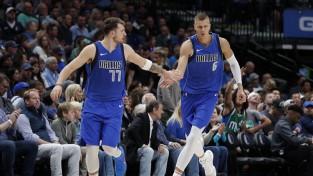 NBA Ziemassvētku dienā Porziņģa ''Mavs'' pret čempioni ''Lakers''