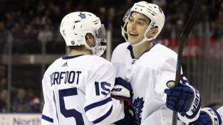 """""""Maple Leafs"""" dienu pirms arbitrāžas vienojas par divu gadu līgumu ar Mihejevu"""