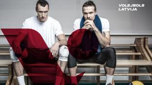 Latvijas volejbolam jauna vizuālā identitāte