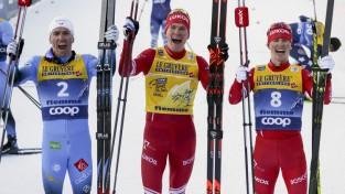 """Boļšunovs aizstāv """"Tour de Ski"""" čempiona titulu, Krievijai gandrīz pilnīga dominance"""